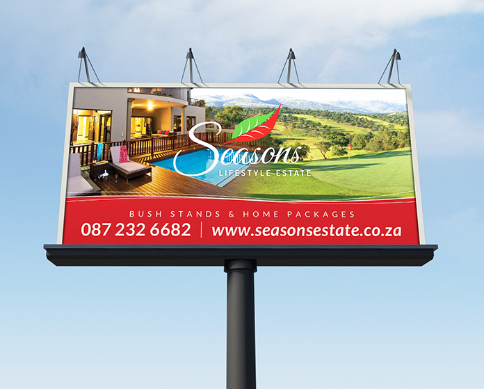 Seasons Branding - Billboard
