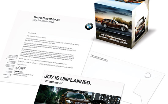 brochure mailer template - services bmw brochure mailer pack