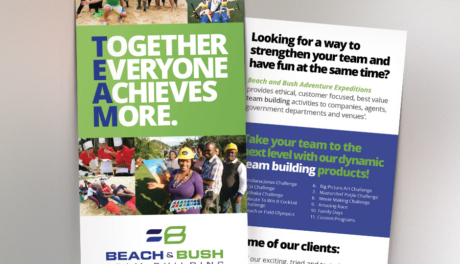 Beach & Bush - Flyer