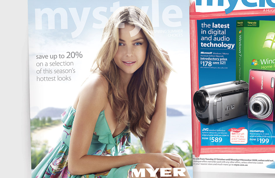 Myer Catalogue - Covers Crop