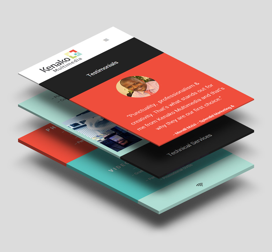 Kenako Marketing Responsive WordPress Website