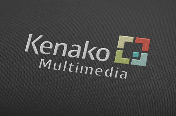 Kenako Multimedia Embroidered Logo on Corporate Polo Shirt