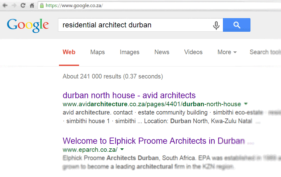 Search Results - Residential Architect Durban