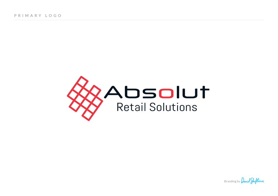 Absolut Logo design primary logo