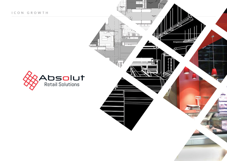 Absolut Logo design icon growth