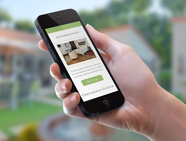 Responsive Web Design – Oaklands Inn