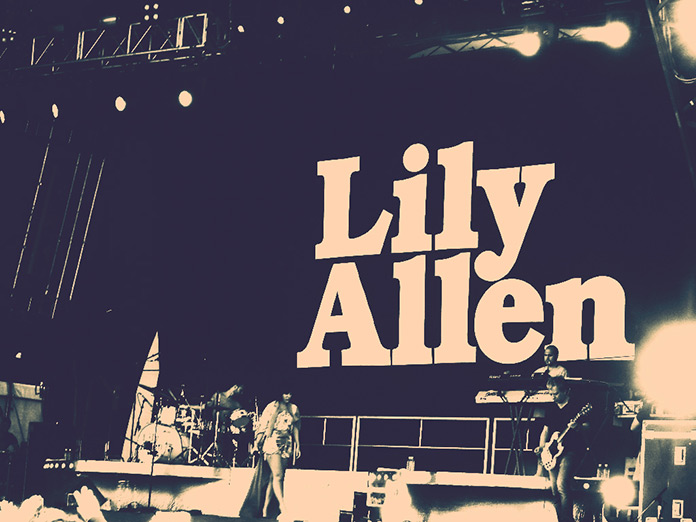 Lilly Allen Retouching - After