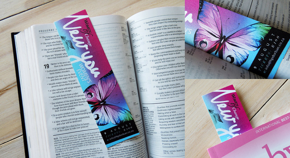 New You - Flyer / Bookmark Design