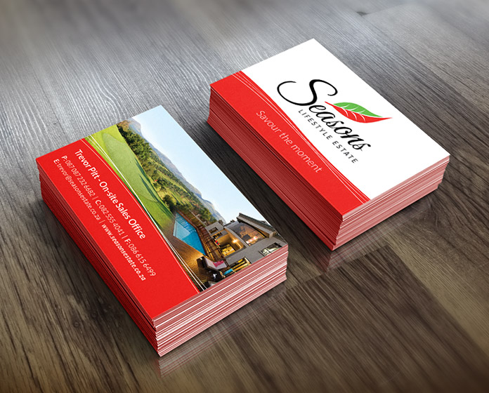 Seasons Branding - Business Cards