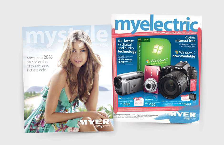 Myer Catalogue - Covers